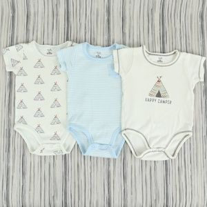 TOUCHED BY NATURE onesie set, size 6-9M
